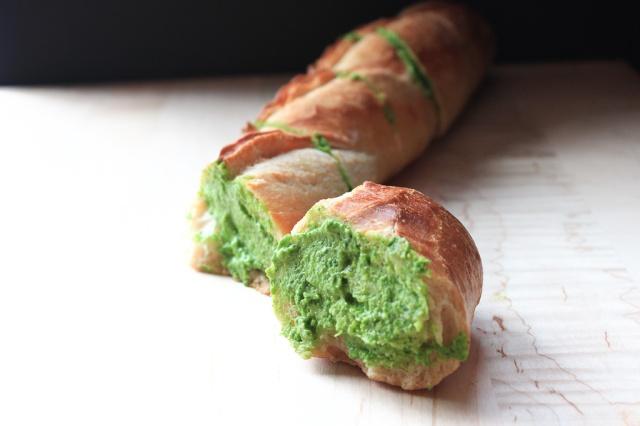 green baguette
